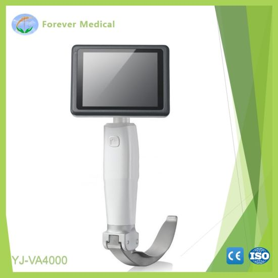 Surgical Video Laryngoscope, Anesthesia Video Laryngoscope pictures & photos