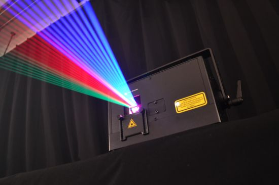 Full Color RGB 4W Laser Light/ Professional DJ Equipment/Club Laser Lights for Sale pictures & photos