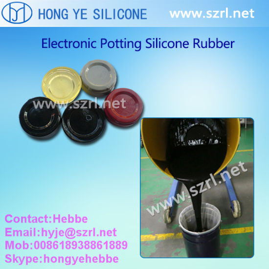 Liquid Electronic Potting Compound Silicone Rubber for LED Encapsulation