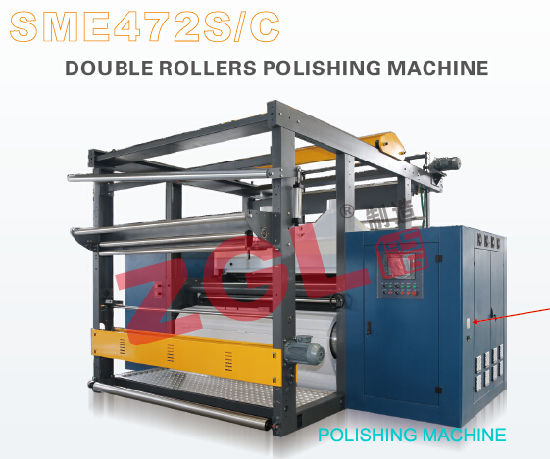 Sme472kf Double Rollers Strong Textile Polishing Machine