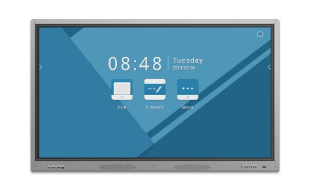 Wireless Projection Large Format Display Interactive White Boards with Android