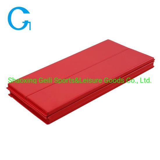 High Grade XPE Folding Gymnastics Mat 6 Fold Exercise Training Mat