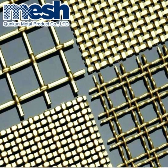 Decorative Crimped Woven Wire Mesh