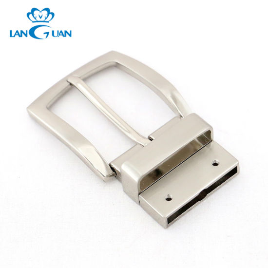 Manufacture Alloy Turning Metal Belt Buckle