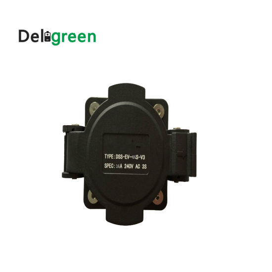 32A Multiple Socket Original SAE J1772 AC Inlet 120V/240V AC Electric Plug Without Cable for EV/Electric Car