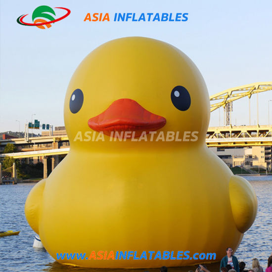 Lovely Duck Moving Cartoon Inflatable Cartoon Character for Promotion pictures & photos