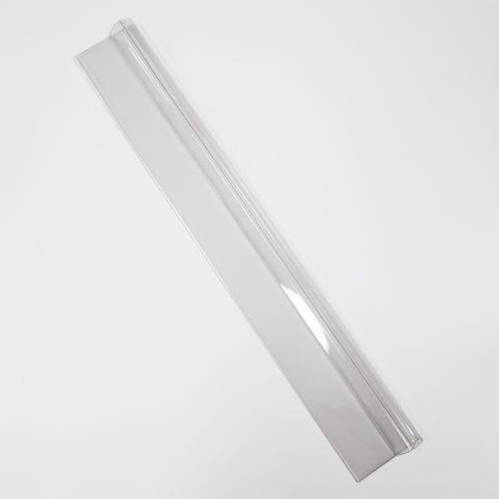 Custom Plastic PETG Price Label Data Strips for Supermarket Shelf