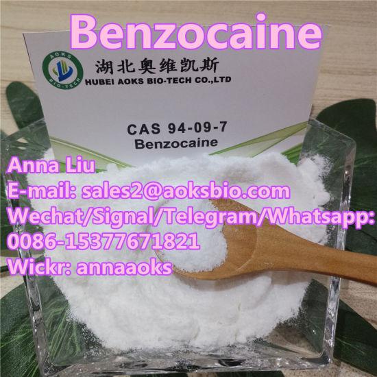 CAS 94-09-7 Benzocaine Powder Price 94 09 7 Pain Killer