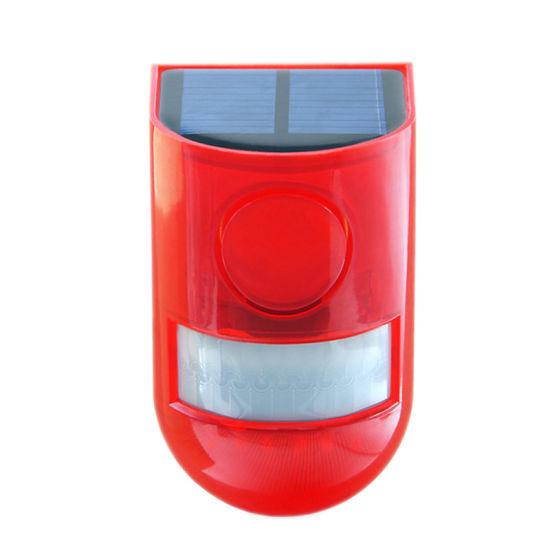 Solar LED Warning Lamp Flashing Alarm Lamp