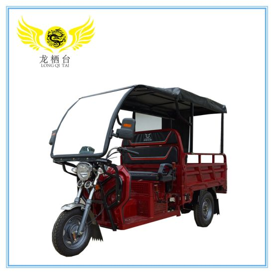 2019 New High Quality Roof Electric Rickshaw and Electric Loader Auto Tricycle Use for The Transport Cargos