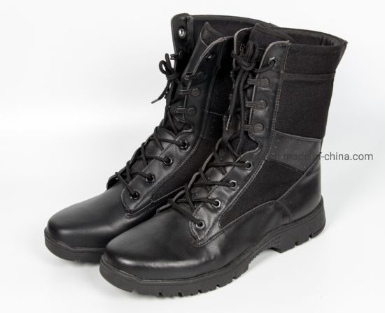 Artifical Leather Safety Boot/ Leather Shoe/Safety Footwear