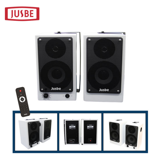 "XL-320 Home Audio Sound 4"" 20W Wireless Remote Office Speakers pictures & photos"