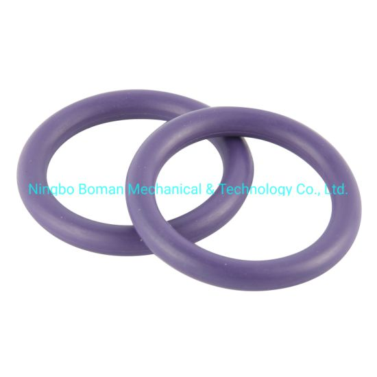 Rubber O-Ring Seals HNBR/FPM/Silicone NBR Aflas O Ring in Customize Size