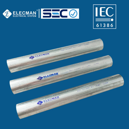 IEC 61386 EMT Tubo 20mm Conduit for Sale
