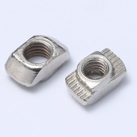 T Nut Solt 6 Hammer - Type Nut for 20X20 Aluminum Profile pictures & photos