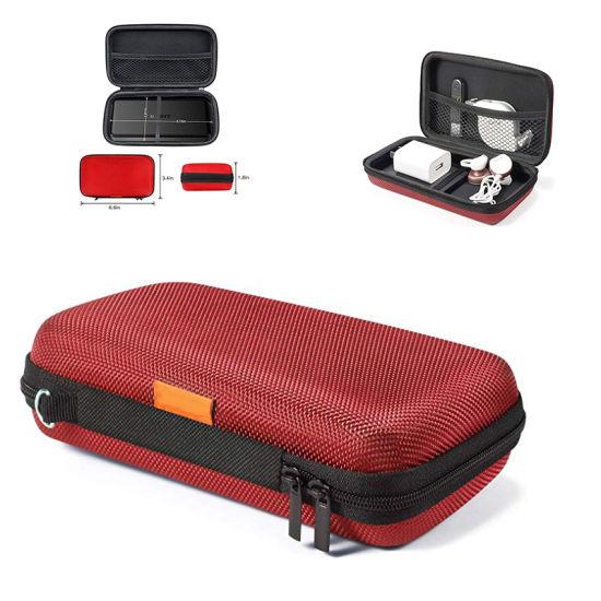 Travel Battery Phone USB Charging Cable Portable Hard EVA Case