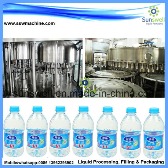 Plastic Bottle Riser Filler Machine for Drinking Water, Mineral Water, Bottlig Pure Water pictures & photos