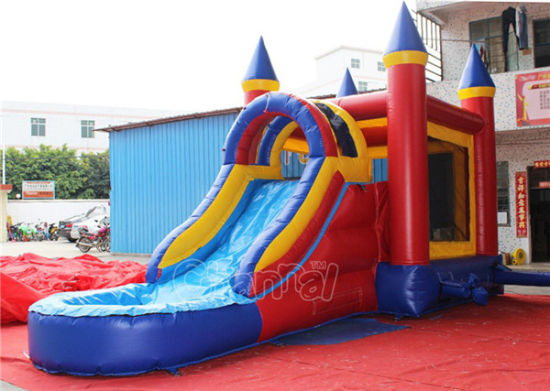 Commercial Inflatable Bouncy Castle with Water Slide Chsl296 pictures & photos