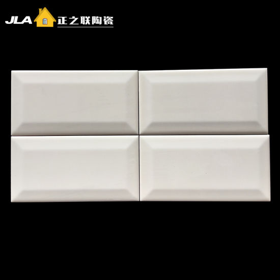 4X8/10X20cm Beige/Ivory Metro/Subway Wall Tile For Bathroom And Kitchen