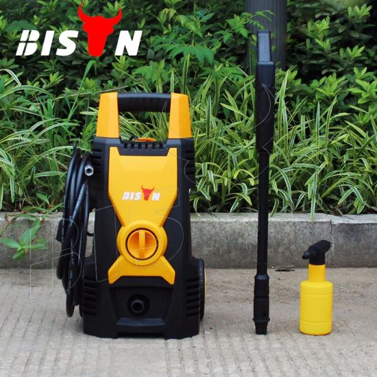 China Bison Bs1508a Portable High Pressure Car Wash Machine Price