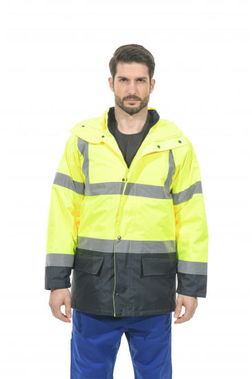 Safety Work Flame Retardant Clothes Workwear Pants and Jackets with Hoodie Reflective Jacket for Labor