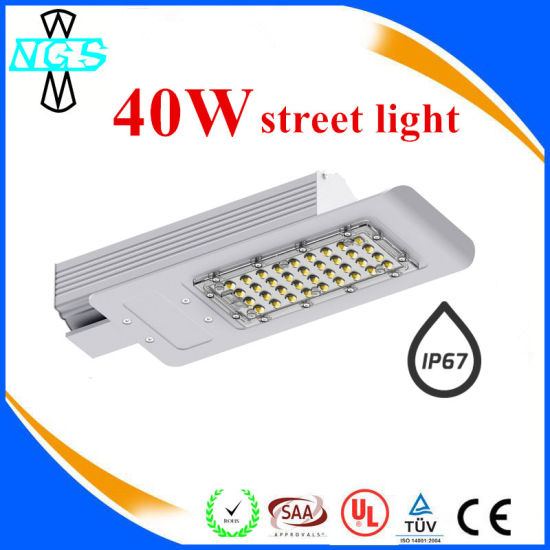 IP67 LED Street Light 30W/40W/60W/120W with Ce RoHS UL pictures & photos