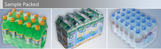 Automatic Bottle PE Film Shrink Wrap Pack Machine pictures & photos