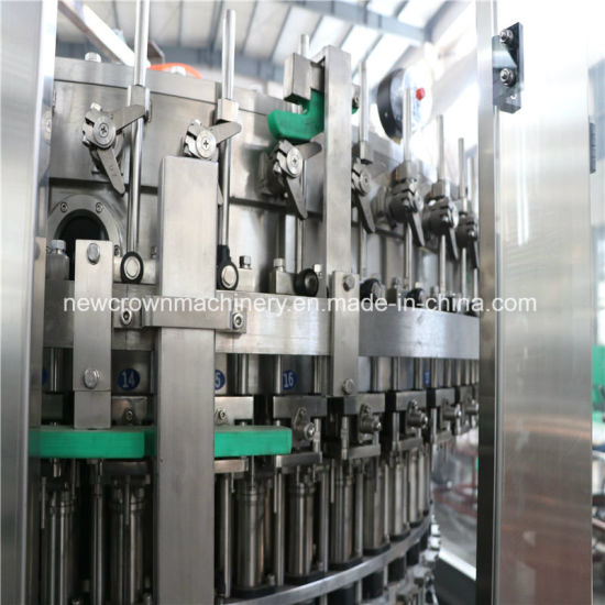 Yfgr50-50-15 3 in 1 Carbonated/Soft Drink Beverage Filling Machine /Liquid Filling Machine pictures & photos