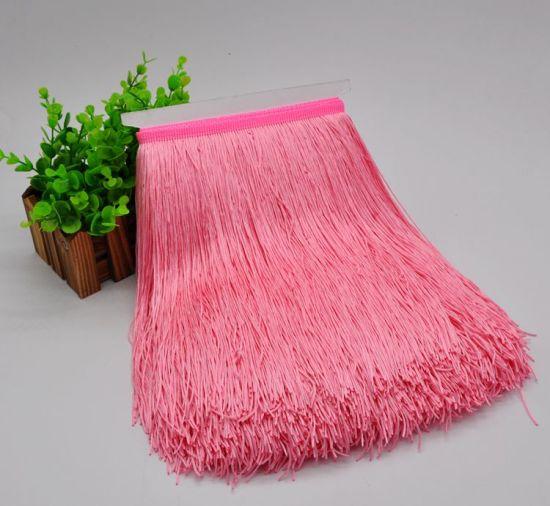 Wholesale Polyester Tassel Trim Lace Fringe for Latin Dress