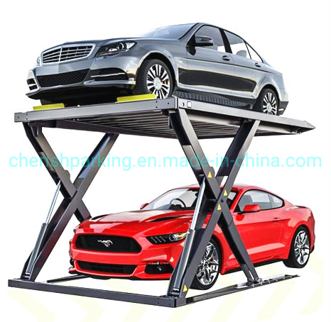 Vehicle Car Storage Scissor Parking Lift Parking Solutions pictures & photos