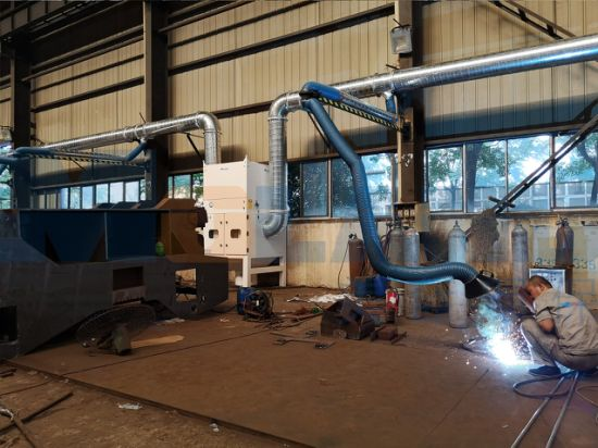 Industrial Centralized Air Purification System Welding Fume Extractor