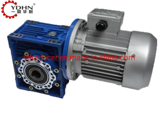 Factory Wholesale Ynmrv Series Worm Gearbox with Flange Match Motor