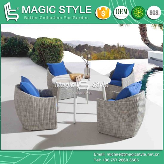 China Patio Dining Chair With Cushion Rattan Dining Set Wicker