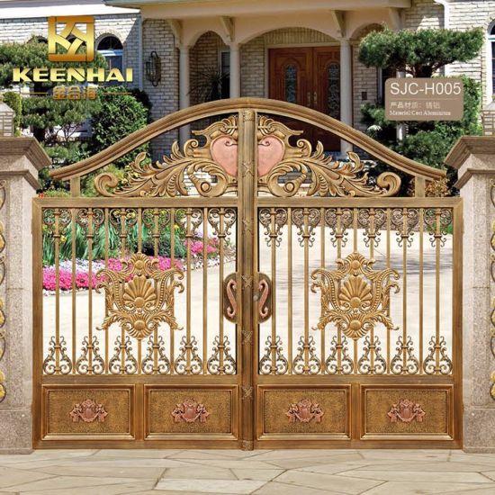 Villa Architectural Aluminum Metal Garden Security Gate