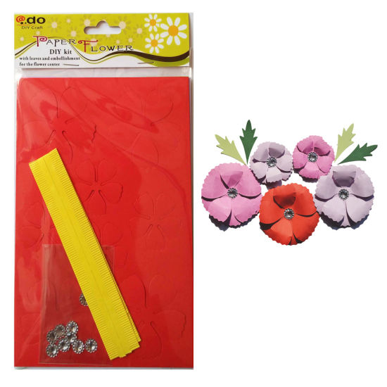 Paper Flower DIY Handmade Material Kit of Big Casmos pictures & photos