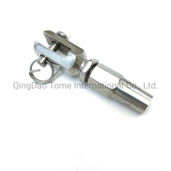 5MM STAINLESS 316 SWAGELESS THREAD TERMINAL //WIRE ROPE THREAD DIAMETER 8MM