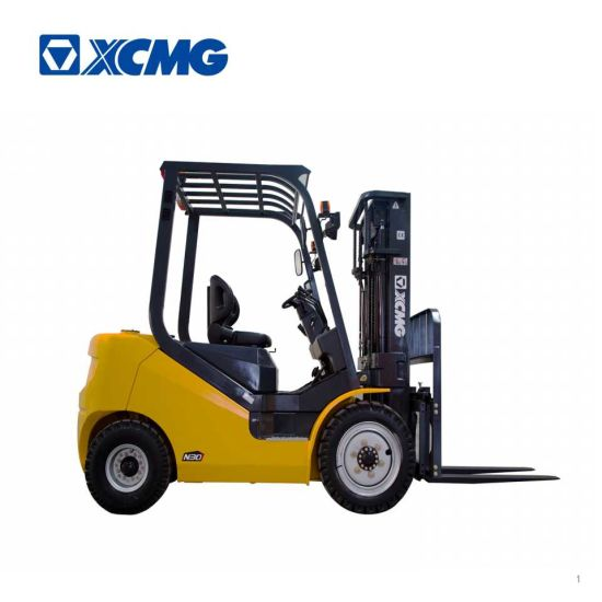 China XCMG 3 Ton Triplex Mast Side Shift Diesel Forklift - China ...