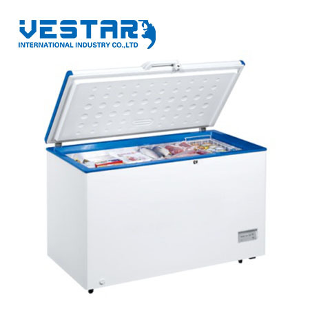 400L Chest Blast-Freezer Refrigerator Container Solar with Seel Door pictures & photos