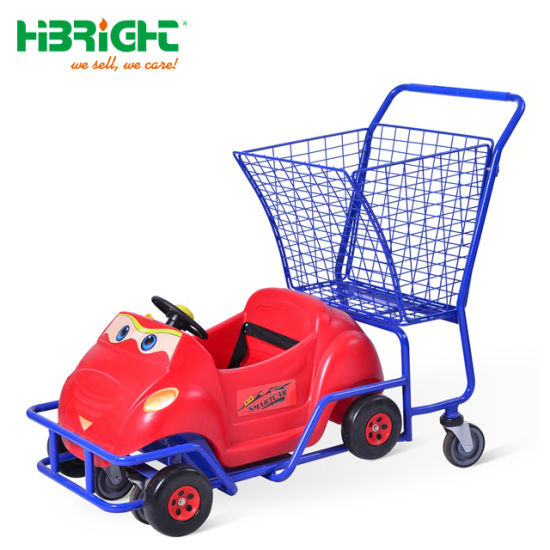 Plastic Kids Toy Car Shopping Cart Trolley pictures & photos