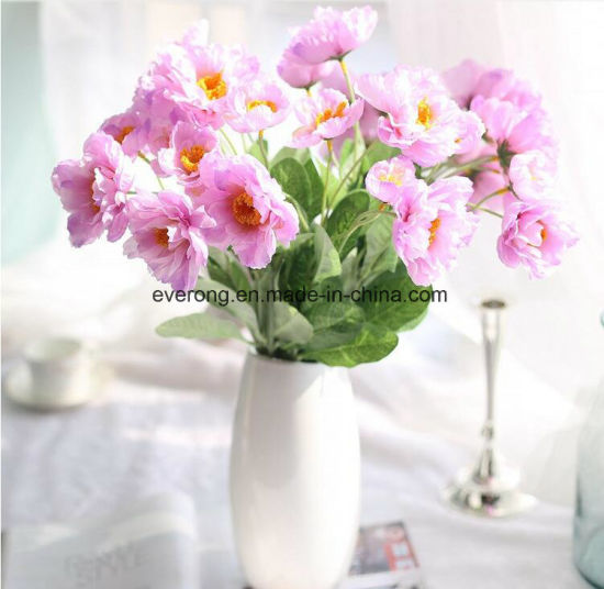 China wholesale home decoration artificial flower real touch silk wholesale home decoration artificial flower real touch silk poppy flower mightylinksfo