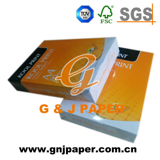 White Color Office Supply A4 Paper in 80g 75g 70g pictures & photos