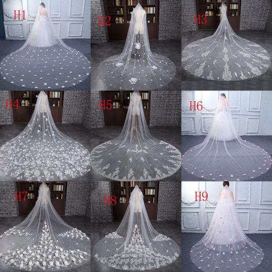 Wholesale Popular Long Veils Soft Tulle Bridal Veil Wedding Veil