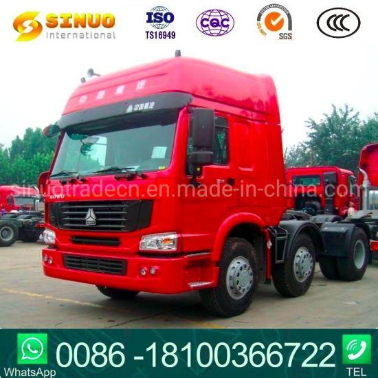 Used 371HP375 6X4 Sinotruk HOWO 10 Wheels Tractor Truck Heavy Duty Truck Trailer Head Tractor Head Truck Hot Sale Africa