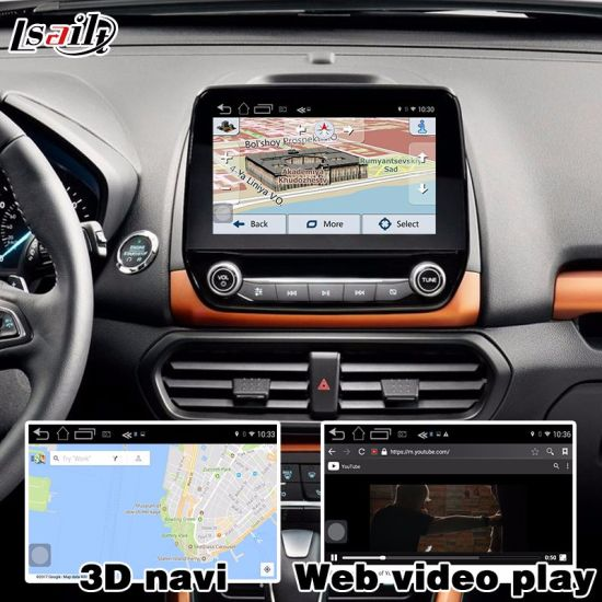 China Lsailt Android GPS Navigation System Box for Ford Ecosport