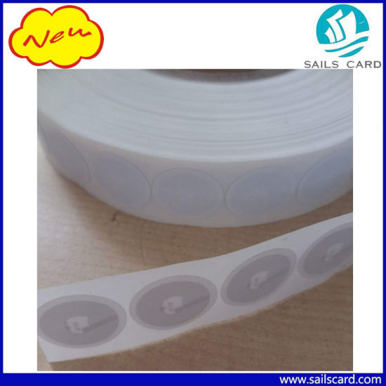 Adhesive 13.56MHz RFID Tag Sticker for Library pictures & photos
