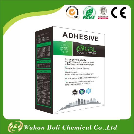 China Supplier Gbl Potato Starch Wallpaper Glue China Glue Powder
