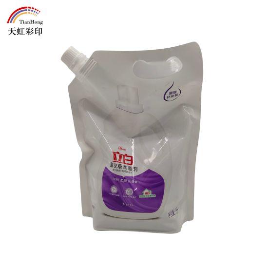 Spout Plastic Packaging Bag
