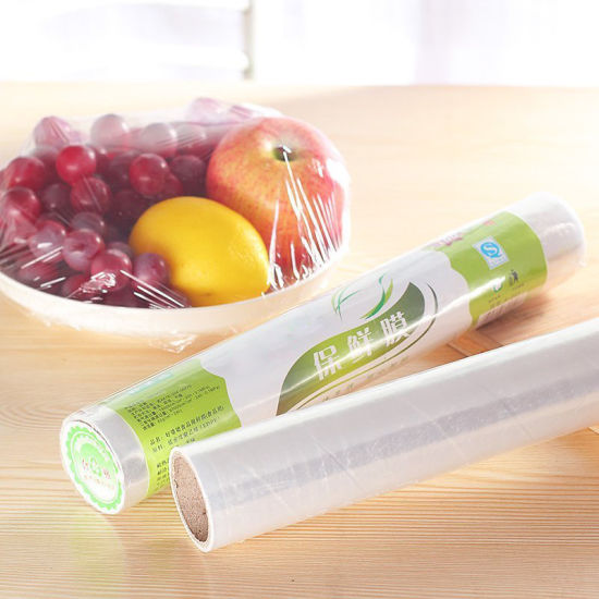 Plastic PLA 100% Biodegradable Food Packaging Fresh Wrap Cling Film pictures & photos