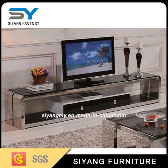 Charmant Chinese Furniture Television Set Glass TV Stand In Living Room