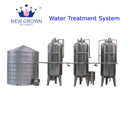 Stainless Steel Pre-Water Treatment Line for Making Mineral Water pictures & photos